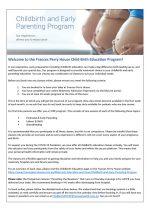 Child-Birth-Education-Program-Instructions